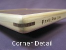 PanelPak Corner - cross-grain wood spline reinforcement in contrasting color